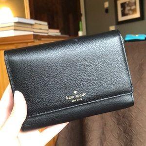 kate spade tri fold wallet